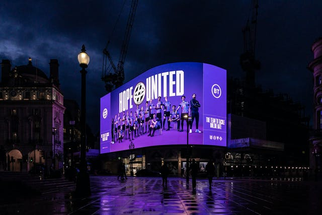 HOPE UNITED OOH PICCADILLY 01