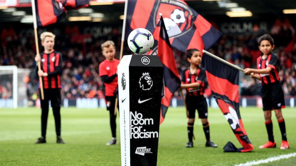 Premier League No Room For Racism Campaign For Equality